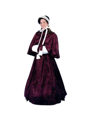 Adult Dickens Lady Costume-COSTUMEISH