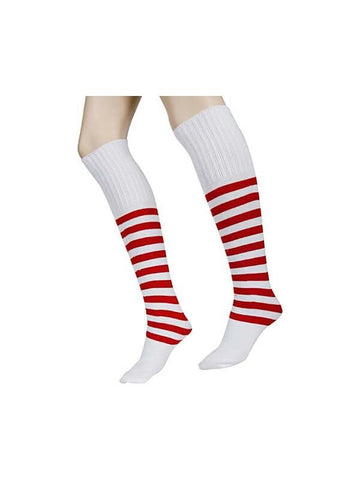 Adult Deluxe Elf Socks-COSTUMEISH