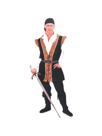Adult Renaissance Pirate Costume-COSTUMEISH