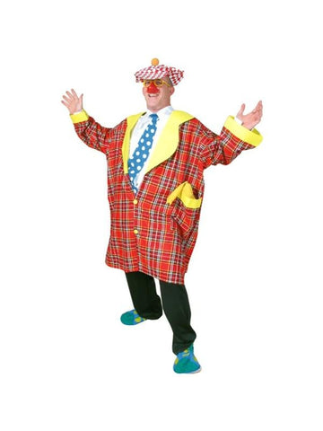 Adult Buttons The Clown Costume