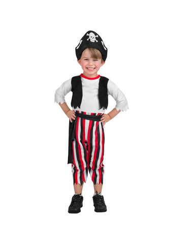 Toddler Petite Pirate Costume-COSTUMEISH