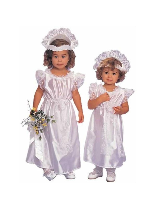 Toddler Bride Costume-COSTUMEISH