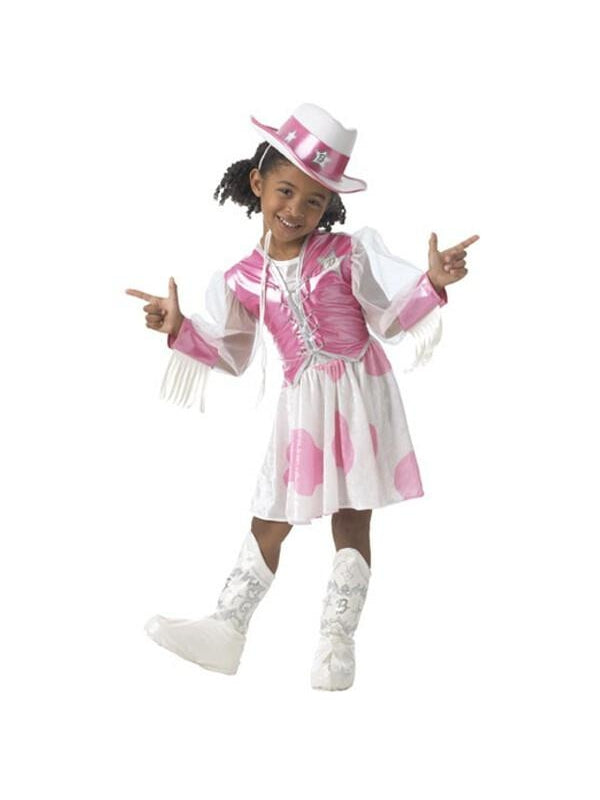 Toddler Cowgirl Barbie Costume-COSTUMEISH