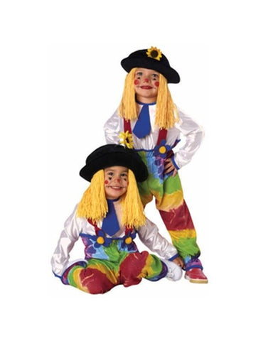 Childs Yarn Clown Costume