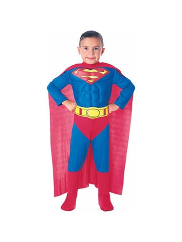 Child's Deluxe Superman Costume