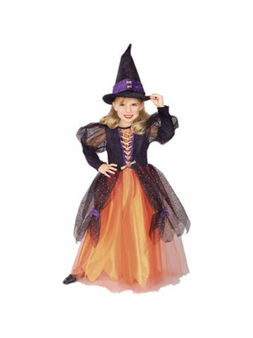 Childs Pretty Witch Costume