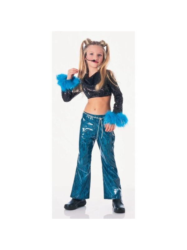 Child's Mega Rock Star Costume-COSTUMEISH