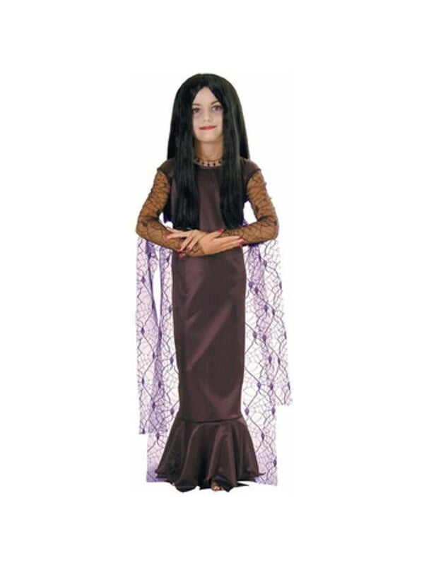 Child's Morticia Costume-COSTUMEISH