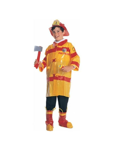 Child's Cheap Firefighter Costume-COSTUMEISH