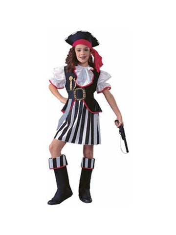 Childs Pirate Girl Costume