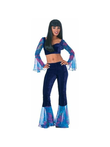 Adult 60's Groovy Bell Bottom Costume-COSTUMEISH