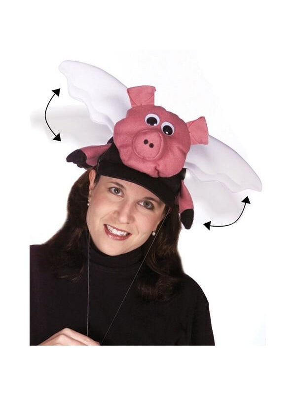 When Pigs Fly Hat-COSTUMEISH