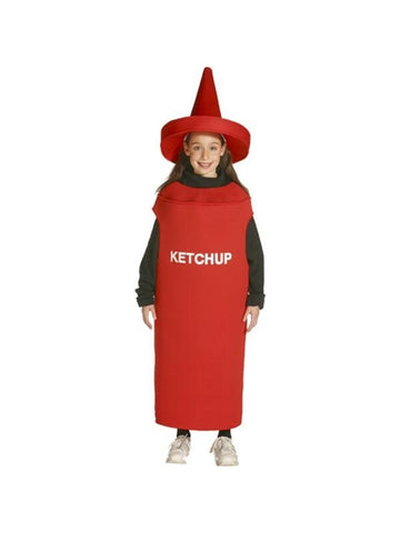 Child Ketchup Costume-COSTUMEISH