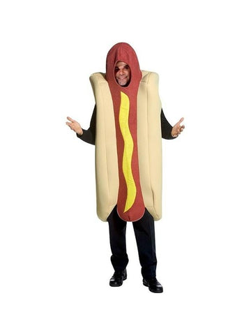 Adult Hot Dog Costume-COSTUMEISH