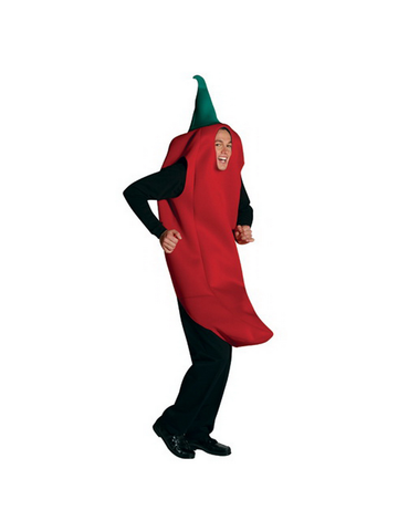 Adult Chili Pepper Costume-COSTUMEISH