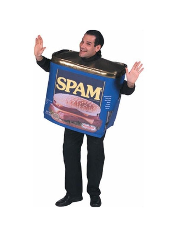 Adult Spam Costume-COSTUMEISH