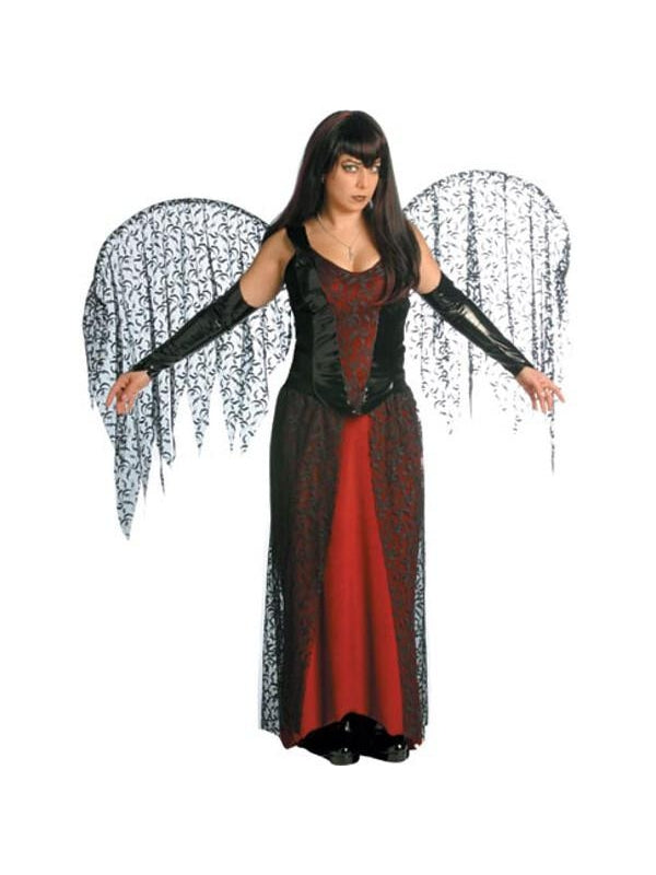 Adult Goth Fairy Costume-COSTUMEISH