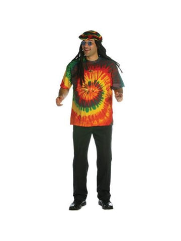Adult Tie Dye T-Shirt-COSTUMEISH
