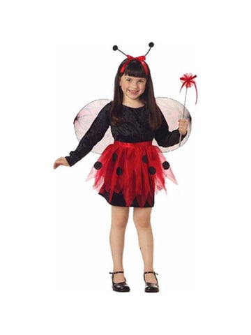 Child's Ladybug Halloween Costume Dress