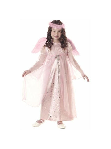 Child's Pink Harmony Angel Costume-COSTUMEISH