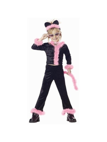 Child's Pink Kitty Cat Costume-COSTUMEISH