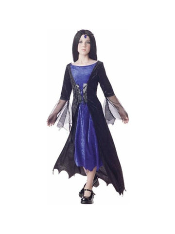 Child's Gothic Sorceress Costume