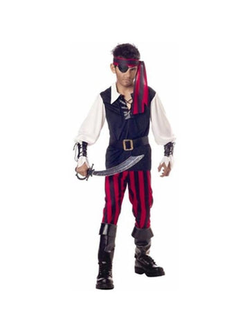 Child's Classic Cutthroat Pirate Costume-COSTUMEISH