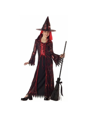 Child's Devil Witch Costume