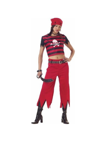 Teen Punk Pirate Costume