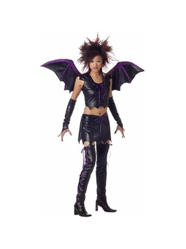 Teen Vixen Bat Girl Costume-COSTUMEISH