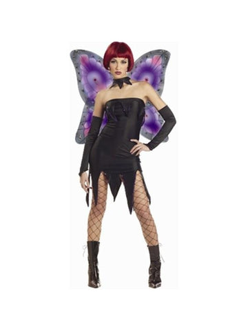 Adult Evil Pixie Fairy Costume-COSTUMEISH