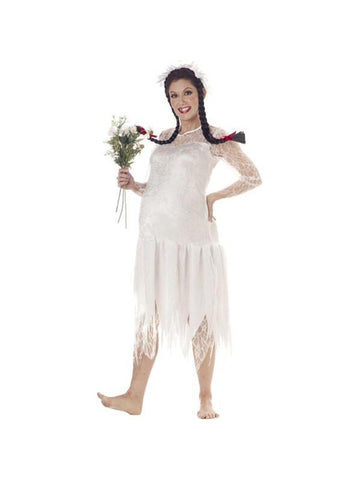 Adult Hillbilly Woman Costume-COSTUMEISH