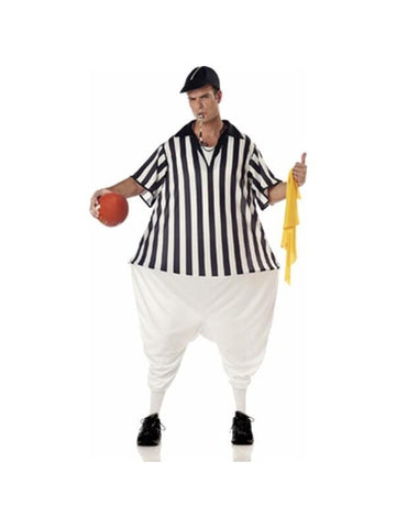 Adult Fat Referee Costume-COSTUMEISH