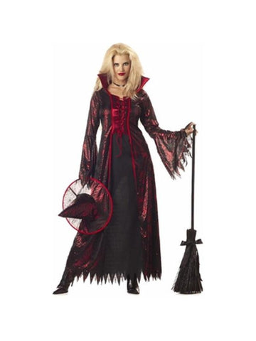 Adult Devil Witch Costume-COSTUMEISH
