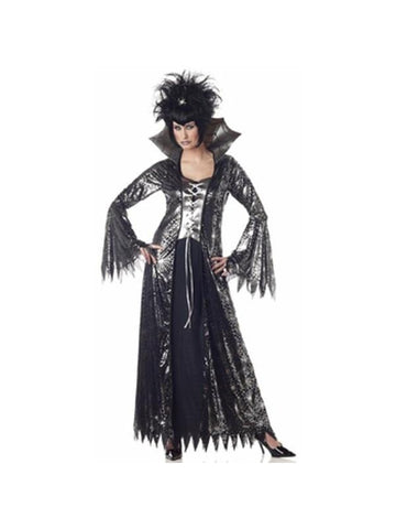 Adult Women's Spider Witch Costume-COSTUMEISH