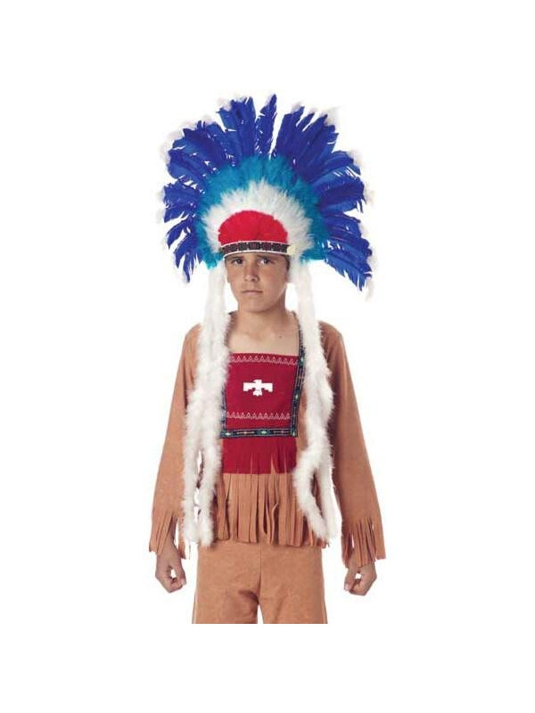 Child's Full Indian Headdress-COSTUMEISH