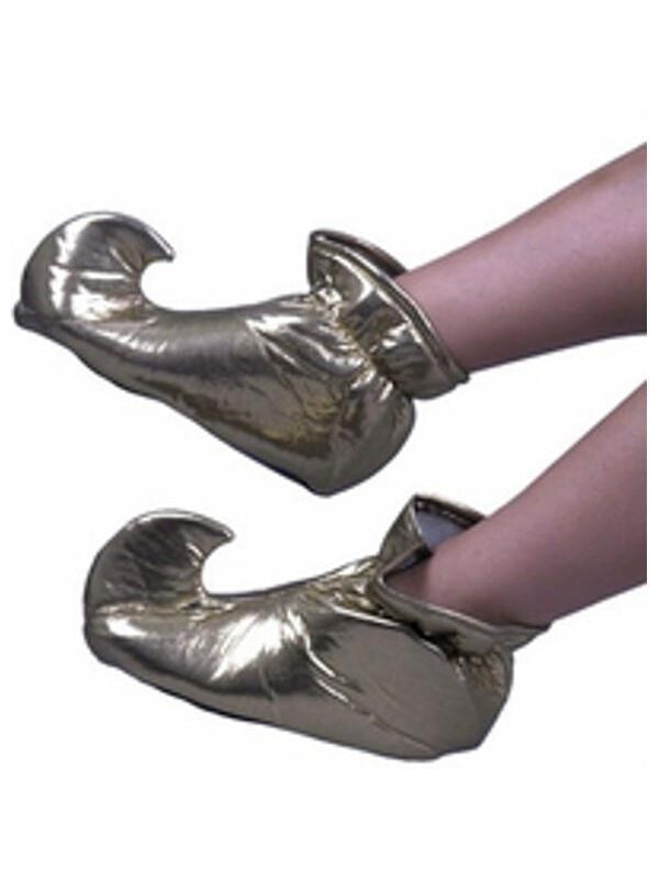 Toddler Gold Genie Shoes-COSTUMEISH