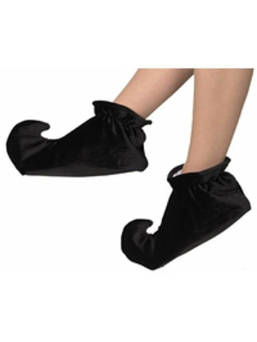 Child Black Jester Shoes-COSTUMEISH