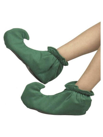 Child's Green Elf Shoes-COSTUMEISH