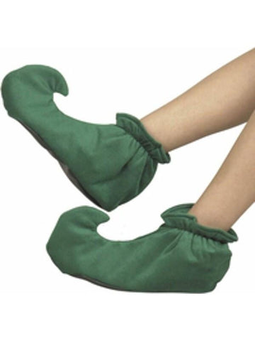 Adult Green Elf Shoes-COSTUMEISH