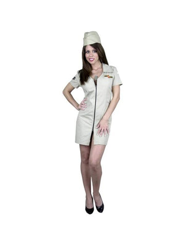 Adult Women's Sexy Air Force Costume