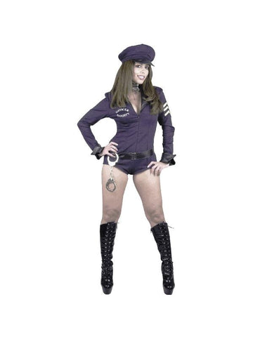Adult Naughty Police Officer Costume-COSTUMEISH
