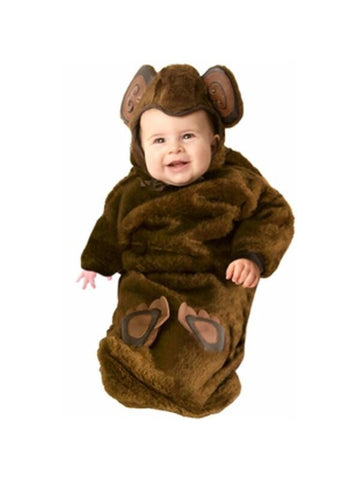 Baby Fur Bunting Monkey Costume-COSTUMEISH
