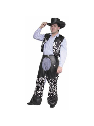 Adult Black Costume Cowboy Hat