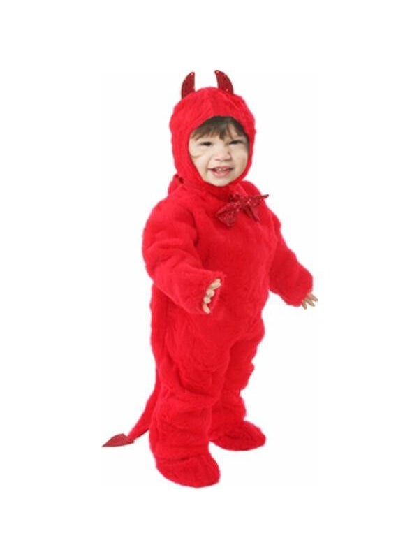 Toddler Plush Devil Costume-COSTUMEISH