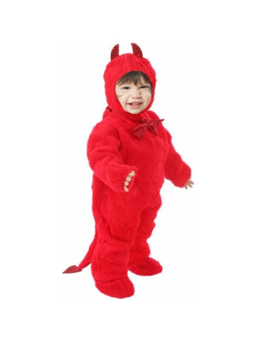 Toddler Plush Devil Costume