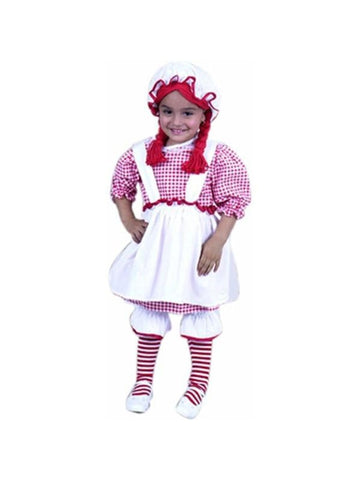 Toddler Cute Rag Doll Costume