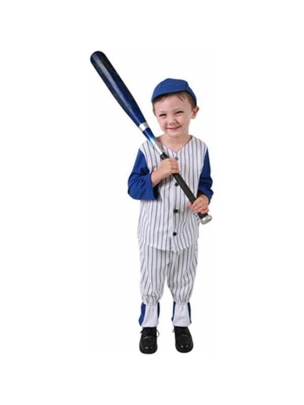 Toddler Baseball Player Costume-COSTUMEISH