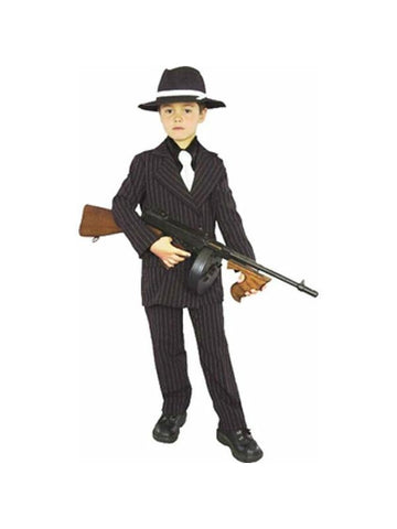 Child's Gangster Boy Costume-COSTUMEISH