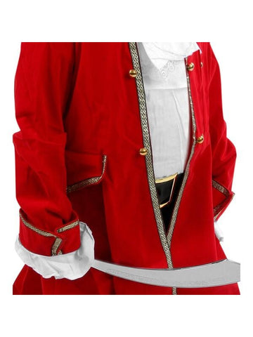 Child's Velvet Pirate Captain Costume-COSTUMEISH
